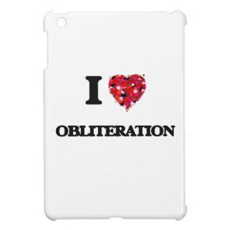 I Love Obliteration iPad Mini Cover