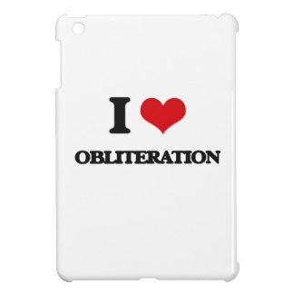 I Love Obliteration iPad Mini Covers