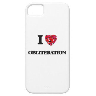 I Love Obliteration iPhone 5 Covers