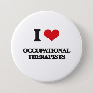 I love Occupational Therapists 7.5 Cm Round Badge