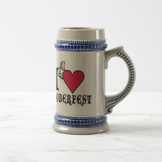 I love Octoberfest Beer Steins