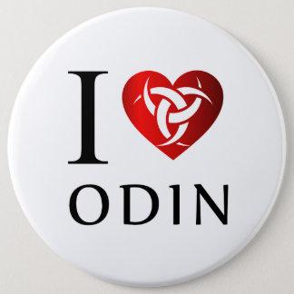 I love Odin 6 Cm Round Badge