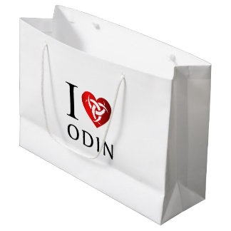 I love Odin Large Gift Bag