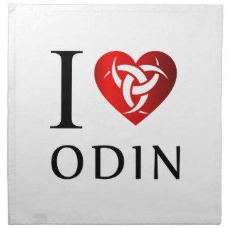 I love Odin Napkin