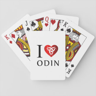I love Odin Playing Cards
