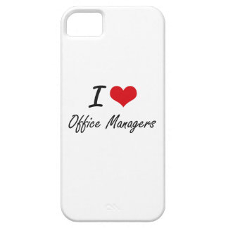 I love Office Managers iPhone 5 Cover