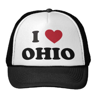 I love Ohio Trucker Hats