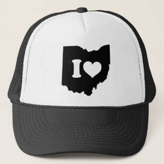 I Love Ohio Trucker Hat