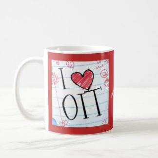 I love OIT: 2 different sides Coffee Mug