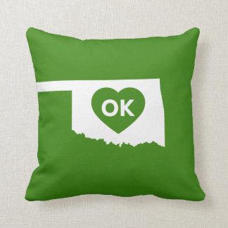 I Love Oklahoma State Pillow