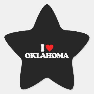 I LOVE OKLAHOMA STICKERS