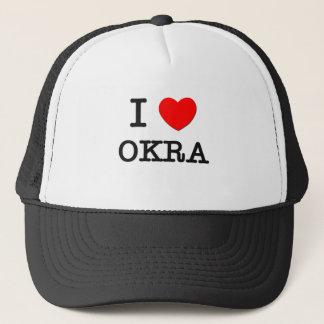I Love Okra Trucker Hat