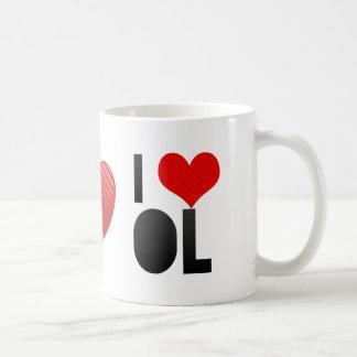 I Love OL Mug