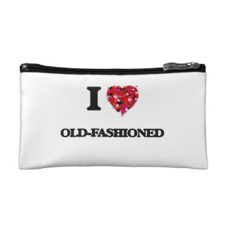 I Love Old-Fashioned Makeup Bags