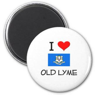 I Love Old Lyme Connecticut Magnet
