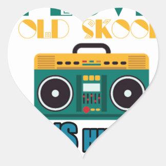 I love Old skoal Heart Sticker