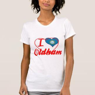 I Love Oldham, South Dakota Tee Shirts