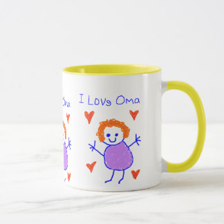 I Love Oma Mug