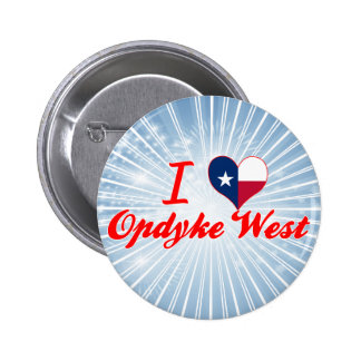 I Love Opdyke West Texas Buttons