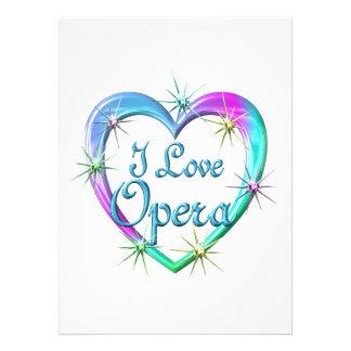I Love Opera Custom Announcement