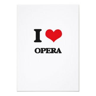 I Love OPERA Announcement Card