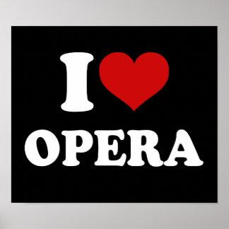 I Love Opera Poster