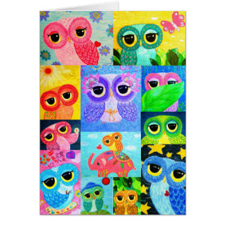 I Love Ophelia The Owl Card