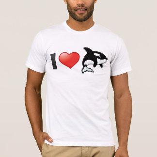 I Love Orcas T-Shirt