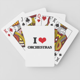 I love Orchestras Poker Cards