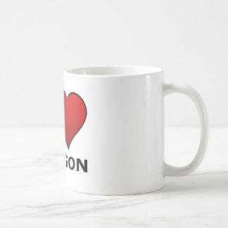 I LOVE OREGON COFFEE MUGS