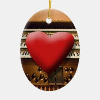 I love organs ornament