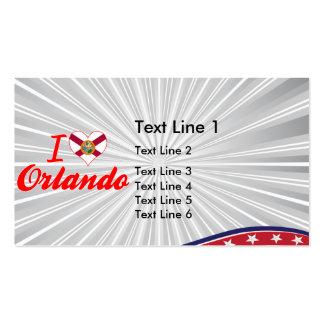 I Love Orlando, Florida Business Card Templates