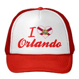 I Love Orlando, Florida Mesh Hats