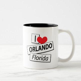 I Love Orlando Florida Mugs