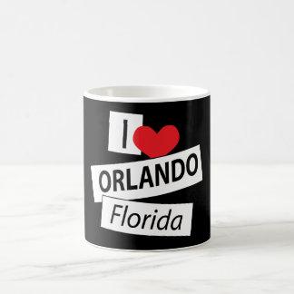 I Love Orlando Florida Coffee Mugs