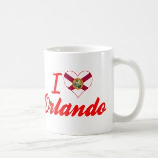 I Love Orlando, Florida Coffee Mugs