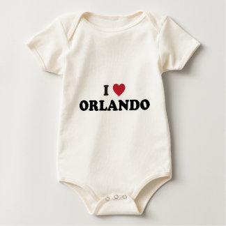 I Love Orlando Florida Rompers
