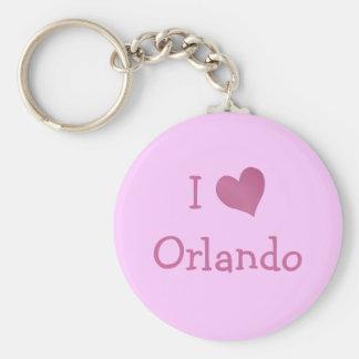 I Love Orlando Key Ring