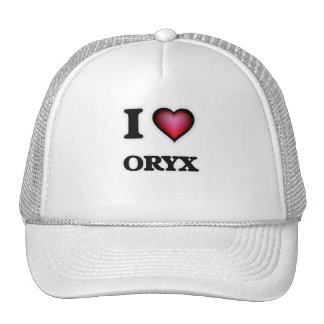 I Love Oryx Cap