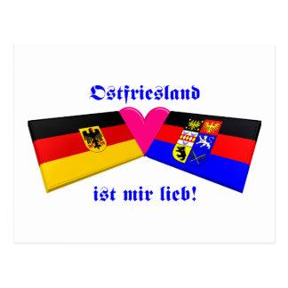 I Love Ostfriesland ist mir lieb Postcard