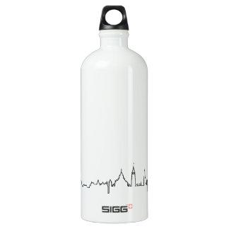 I love Ottawa in an extraordinary ecg style Water Bottle