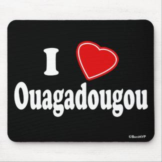 I Love Ouagadougou Mouse Pad