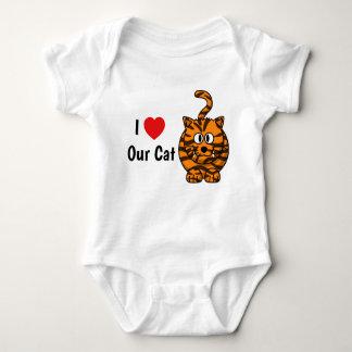 I love our cat vest baby bodysuit