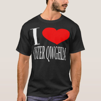 I love Outer Qwghlm T-Shirt