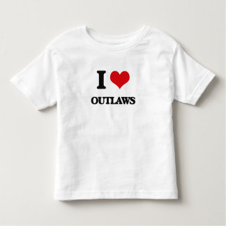 I Love Outlaws Tees