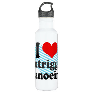 I love Outrigger Canoeing 710 Ml Water Bottle