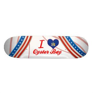 I Love Oyster Bay, New York Custom Skateboard