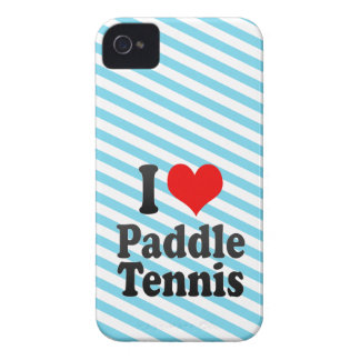 I love Paddle Tennis iPhone 4 Covers