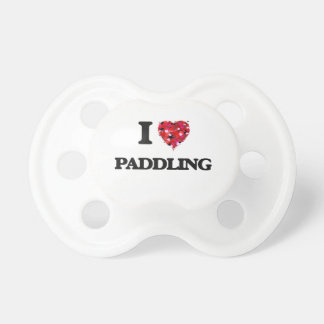 I Love Paddling Dummy