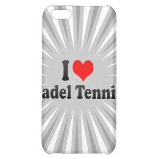 I love Padel Tennis iPhone 5C Cases